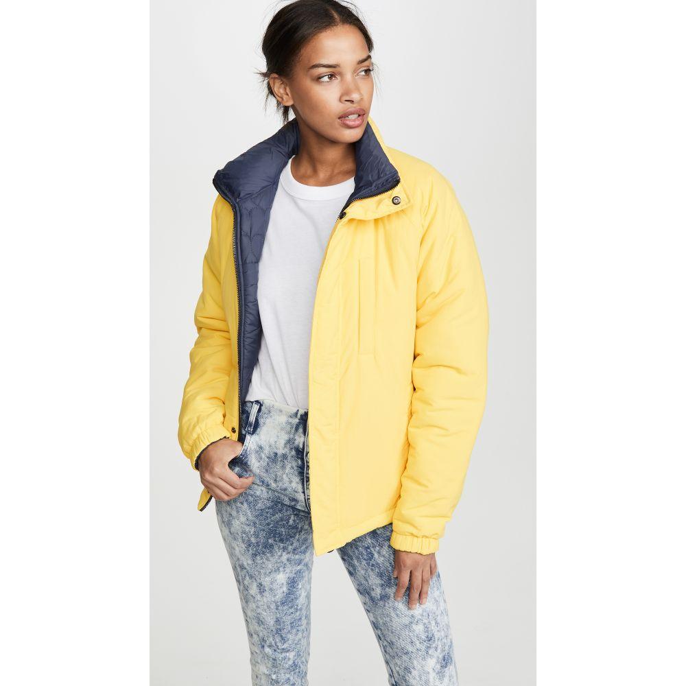 オープニングセレモニー Opening Ceremony レディース ダウン・中綿ジャケット アウター【Unisex Reversible Quilted Puffer Jacket】Fluorescent Yellow