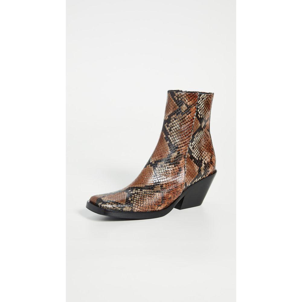 アクネ ストゥディオズ Acne Studios レディース ブーツ ブーティー シューズ・靴【Braxton Viper Booties】Cognac Brown