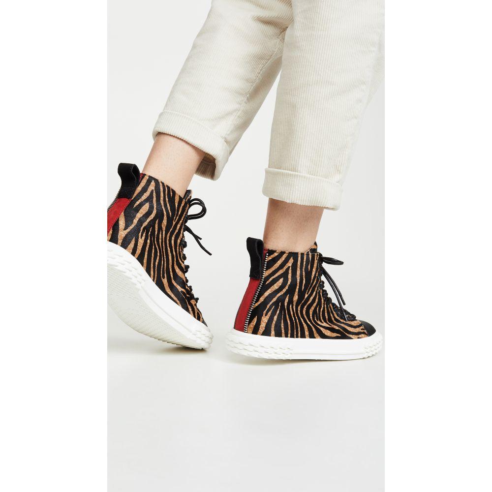 ジュゼッペ ザノッティ Giuseppe Zanotti レディース スニーカー シューズ・靴【Blabber High Top Sneakers】Tiger