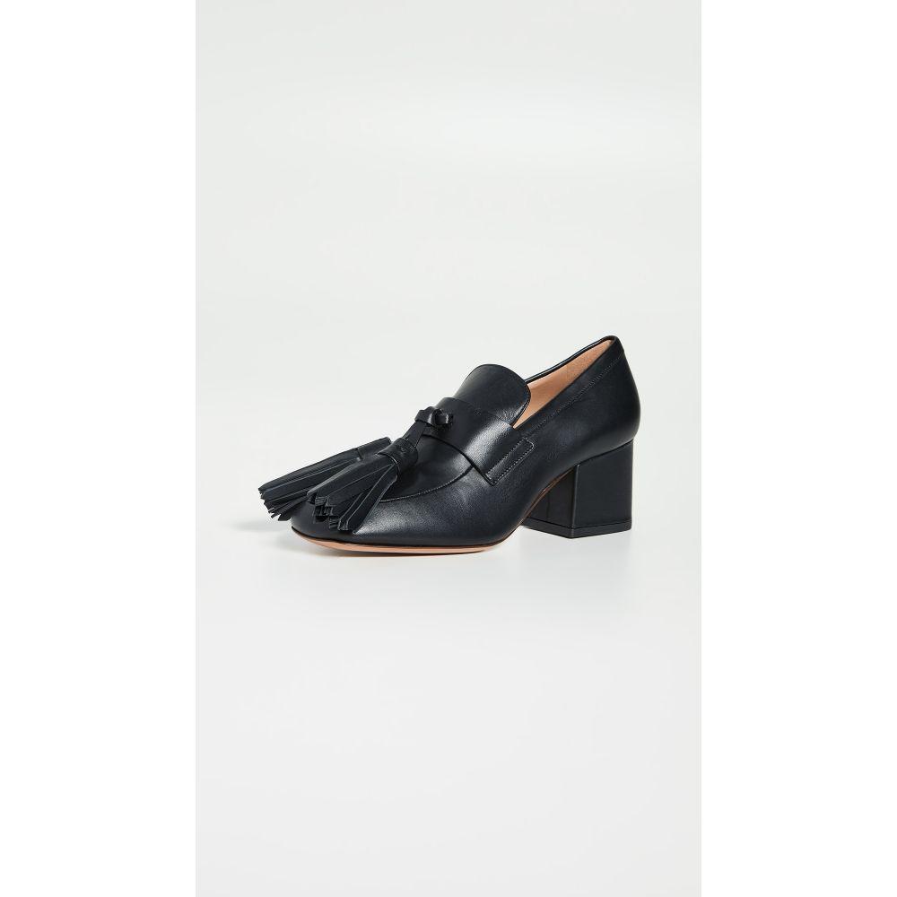 【好評にて期間延長】 マルニ Marni レディース ローファー・オックスフォード シューズ・靴【Heeled Loafers】Black, クロスリースタイル 83734703