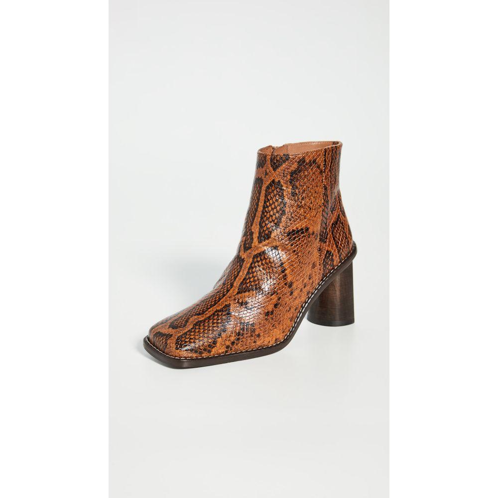 レジーナ ピヨ Rejina Pyo レディース ブーツ シューズ・靴【Alana Boots】Python Orange