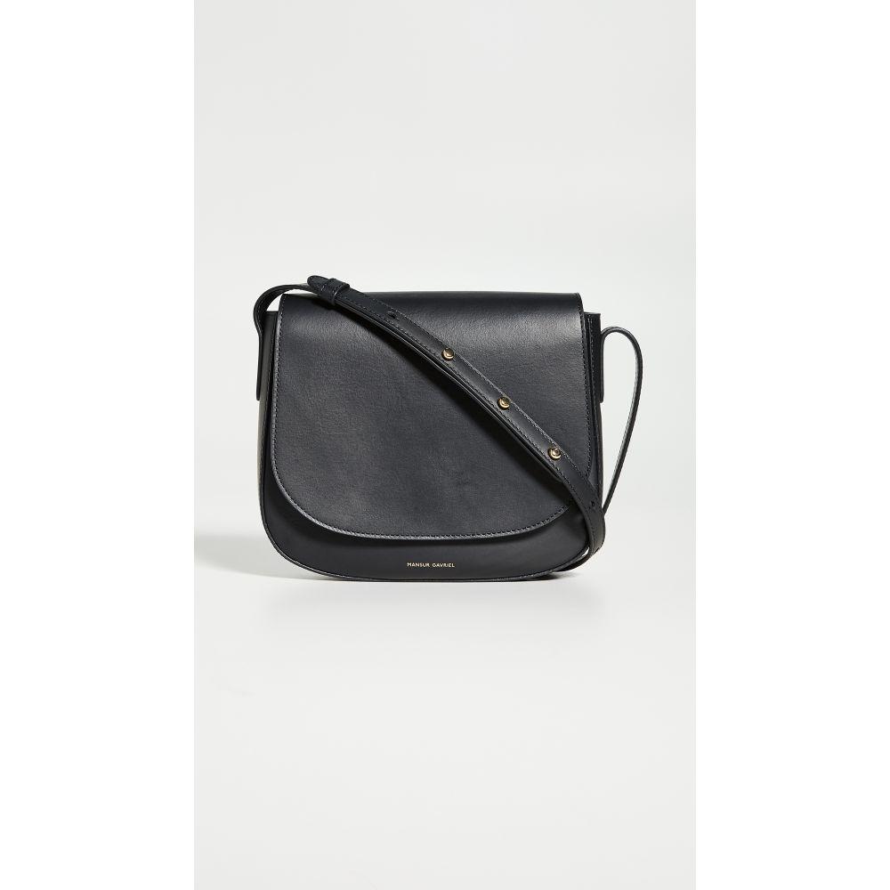 マンサーガブリエル Mansur Gavriel レディース ショルダーバッグ バッグ【Crossbody Bag】Black
