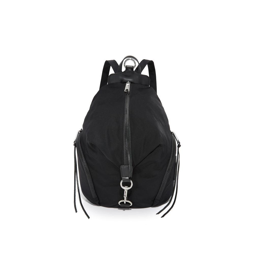 レベッカ ミンコフ Rebecca Minkoff レディース バックパック・リュック バッグ【Nylon Julian Backpack】Black