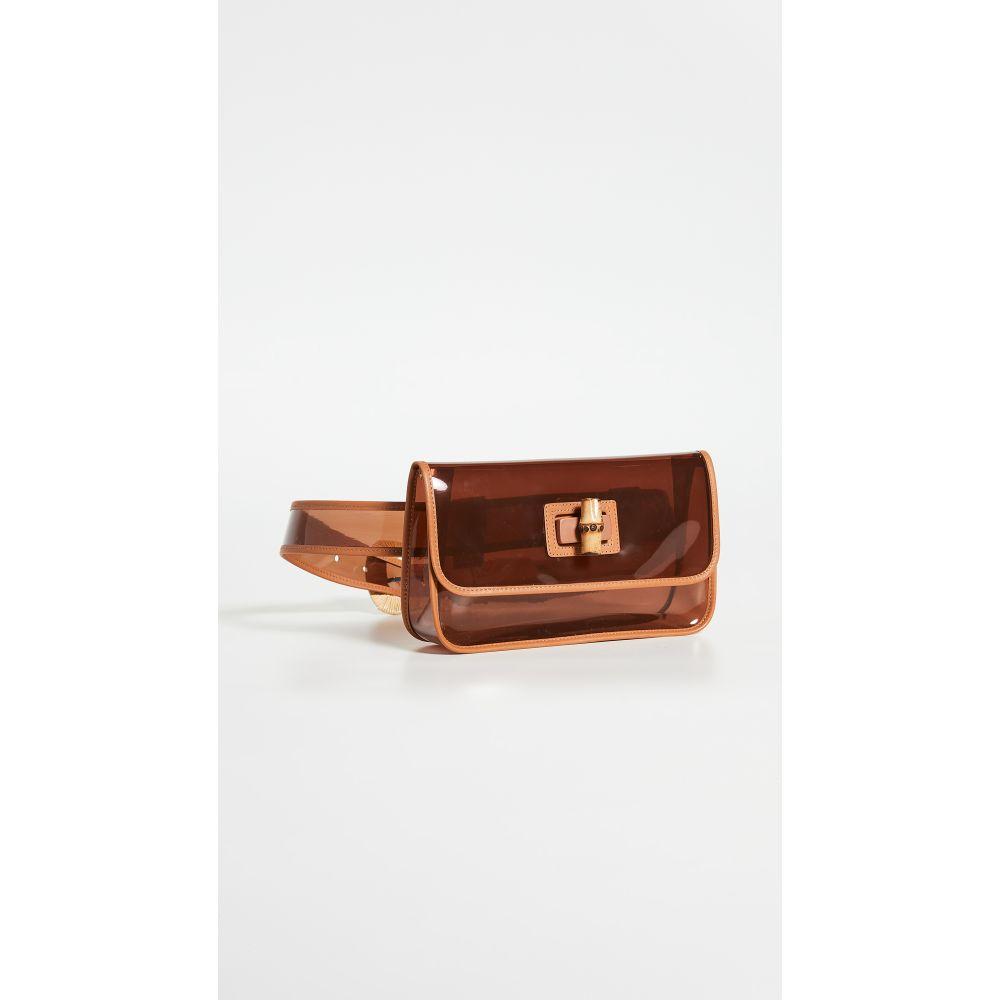 ジマーマン Zimmermann レディース ボディバッグ・ウエストポーチ バッグ【Transparent Belt Bag】Tan