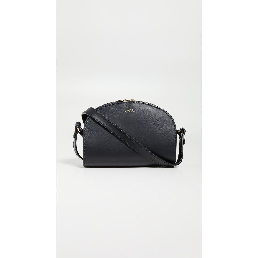 アーペーセー A.P.C. レディース バッグ 【Demi Lune Mini Bag】Noir