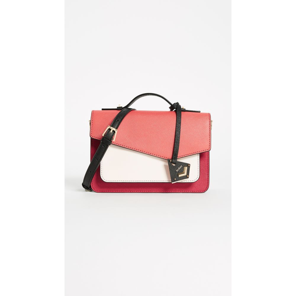 ボトキエ Botkier レディース ショルダーバッグ バッグ【Cobble Hill Crossbody Bag】Poppy/Colorblock
