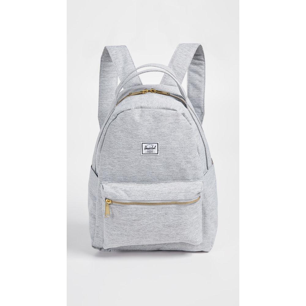 ハーシェル サプライ Herschel Supply Co. レディース バックパック・リュック バッグ【Nova Mid Volume Backpack】Light Grey Crosshatch