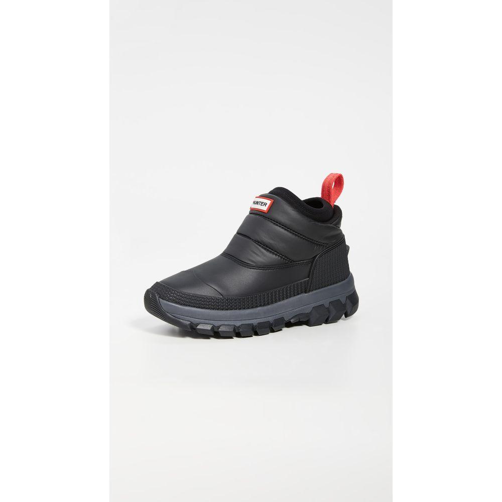 ハンター Hunter Boots レディース ブーツ ショートブーツ スノーブーツ シューズ・靴【Original Snow Ankle Boots】Black