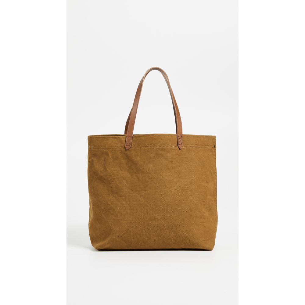 メイドウェル Madewell レディース トートバッグ キャンバストート バッグ【Heavy Canvas Transport Tote Bag】Acorn