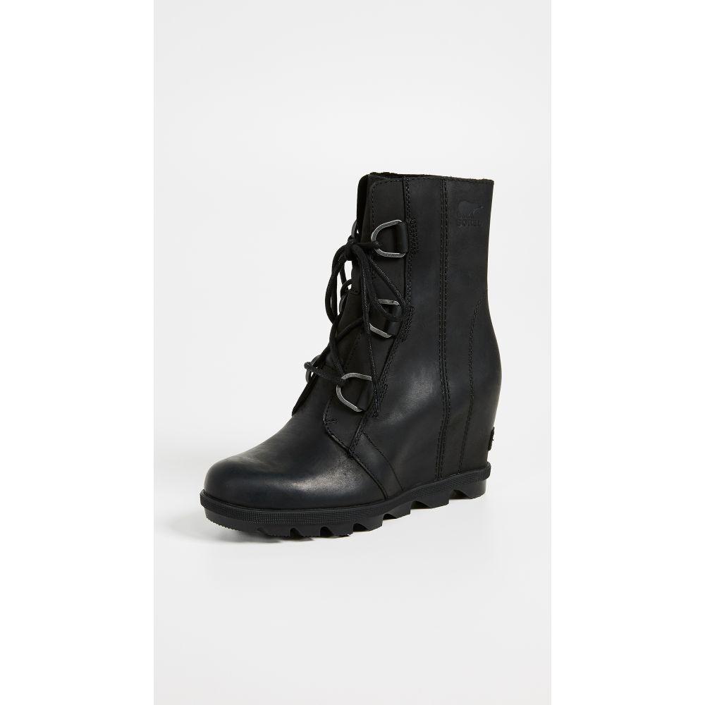 ソレル Sorel レディース ブーツ ウェッジソール シューズ・靴【Joan of Arctic Wedge II Boots】Black