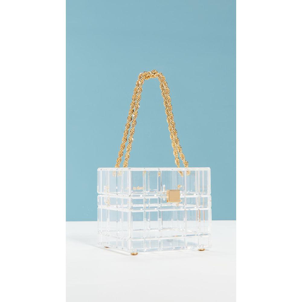 カルト ガイア Cult Gaia レディース ハンドバッグ バッグ【Phaedra Top Handle Bag】Clear