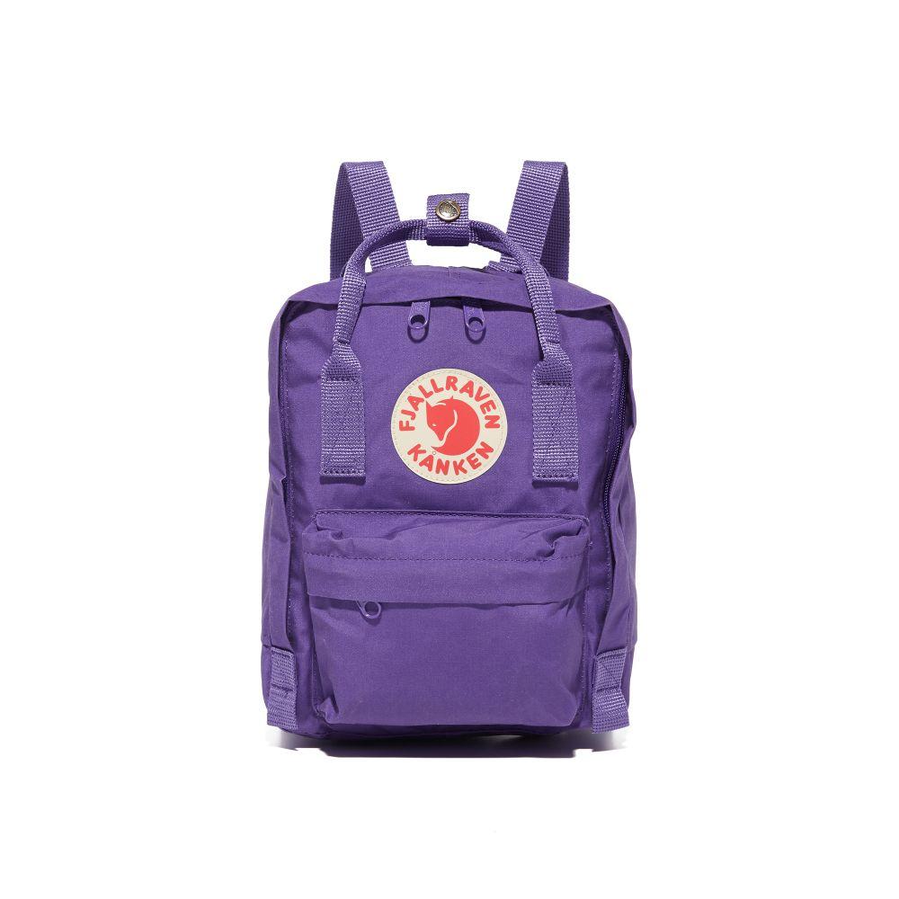 フェールラーベン Fjallraven レディース バックパック・リュック カンケン バッグ【Kanken Mini Backpack】Purple