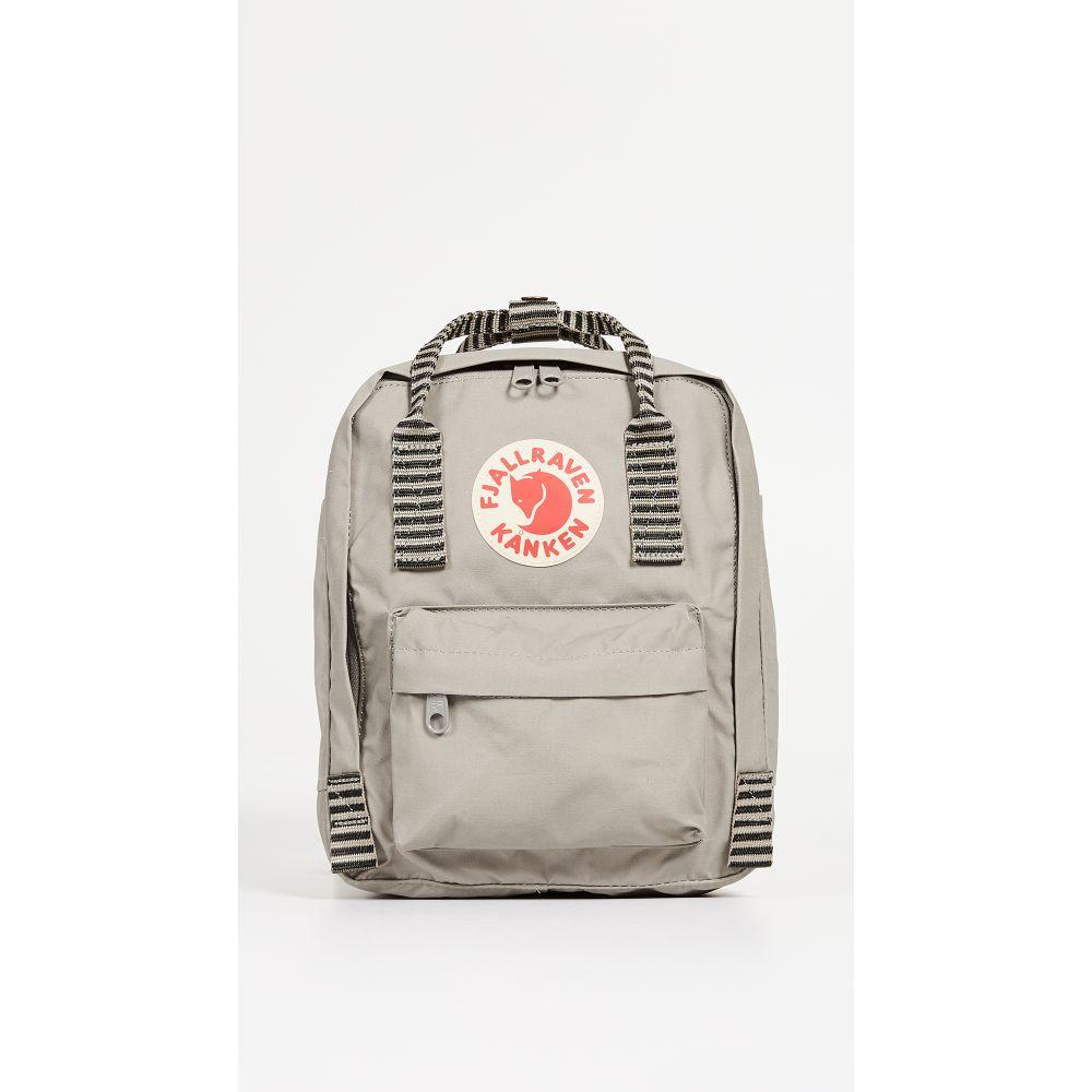フェールラーベン Fjallraven レディース バックパック・リュック カンケン バッグ【Kanken Mini Backpack】Fog/Striped