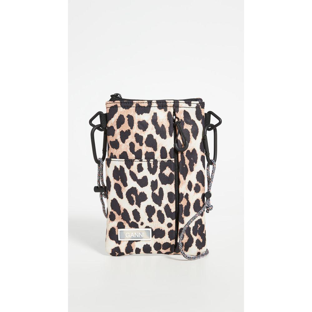 ガニー GANNI レディース ショルダーバッグ バッグ【Multi Pocket Crossbody】Leopard