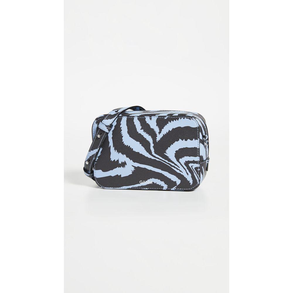 ガニー GANNI レディース ショルダーバッグ バッグ【Crossbody Bag】Forever Blue Zebra