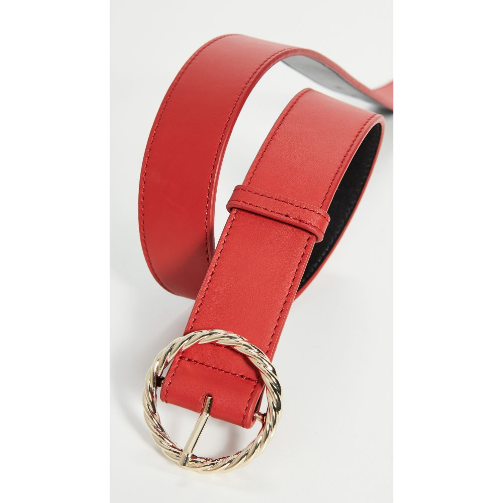 ロフラーランドール Loeffler Randall レディース ベルト 【Leo Twisted Circle Buckle Belt】Cherry Red