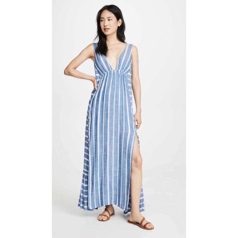 エルスペース L*Space レディース ビーチウェア ワンピース・ドレス 水着・ビーチウェア【Allison Cover Up Dress】Poolside Stripe