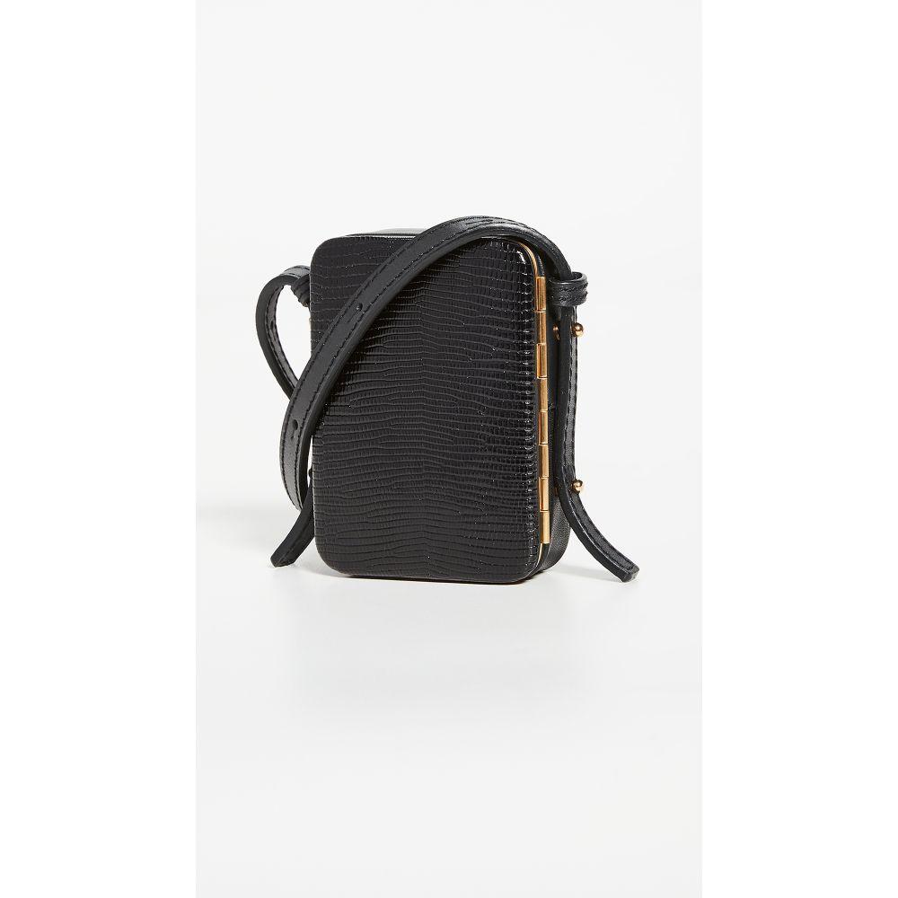 ルッツ モリス Lutz Morris レディース ショルダーバッグ バッグ【Norman Crossbody Bag】Black Lizard