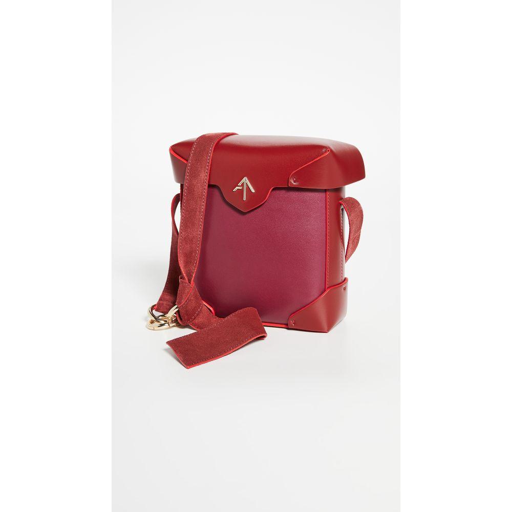 マニュ アトリエ MANU Atelier レディース ショルダーバッグ バッグ【Mini Pristine Bag】Burgundy/Red