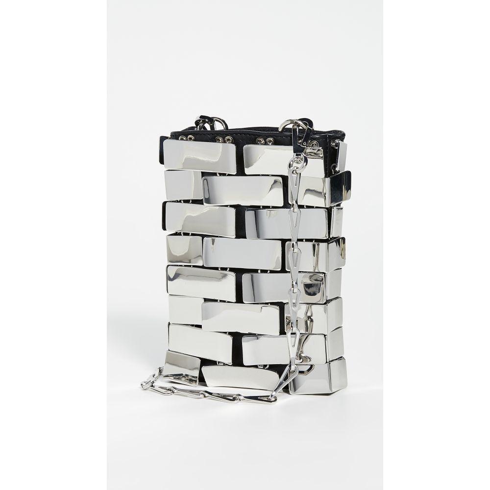 パコラバンヌ Paco Rabanne レディース クラッチバッグ バッグ【Chrome Rectangle Bag】Silver