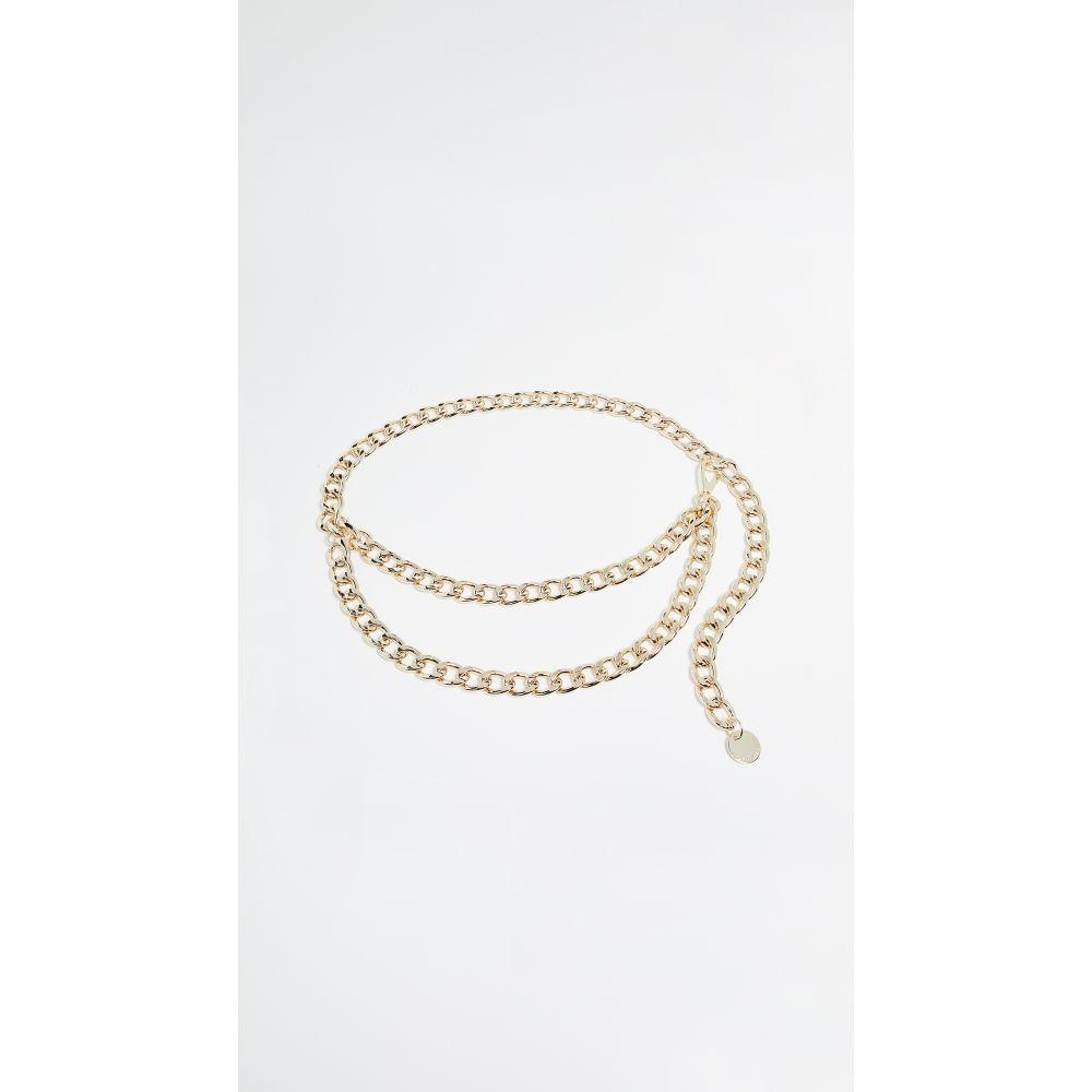 ビーローザベルト B-Low The Belt レディース ベルト 【Gissel Chain Belt】Gold