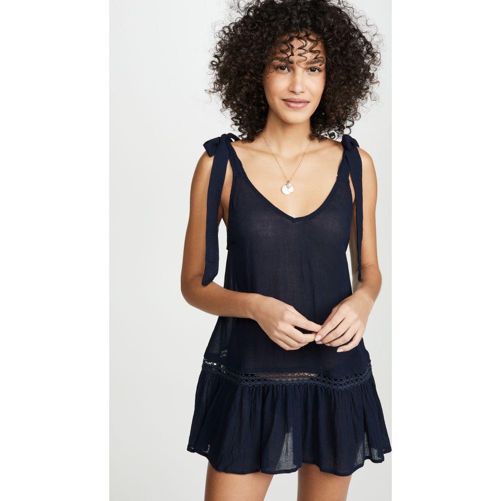 エバージェイ Eberjey レディース ビーチウェア ワンピース・ドレス 水着・ビーチウェア【Summer of Love Kayla Dress】Peacoat