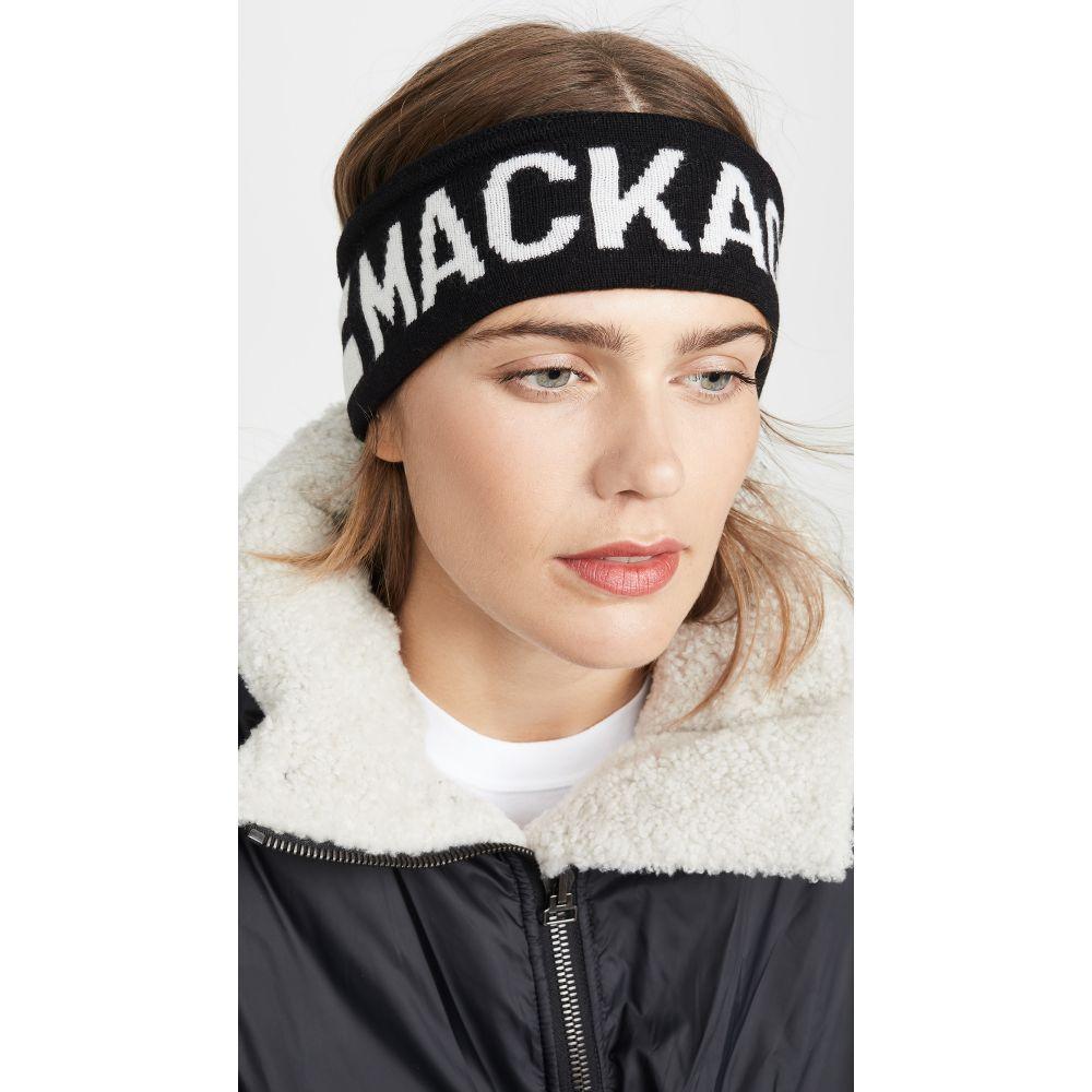 マッカージュ Mackage レディース ヘアアクセサリー ヘッドバンド【Logo Headband】Black