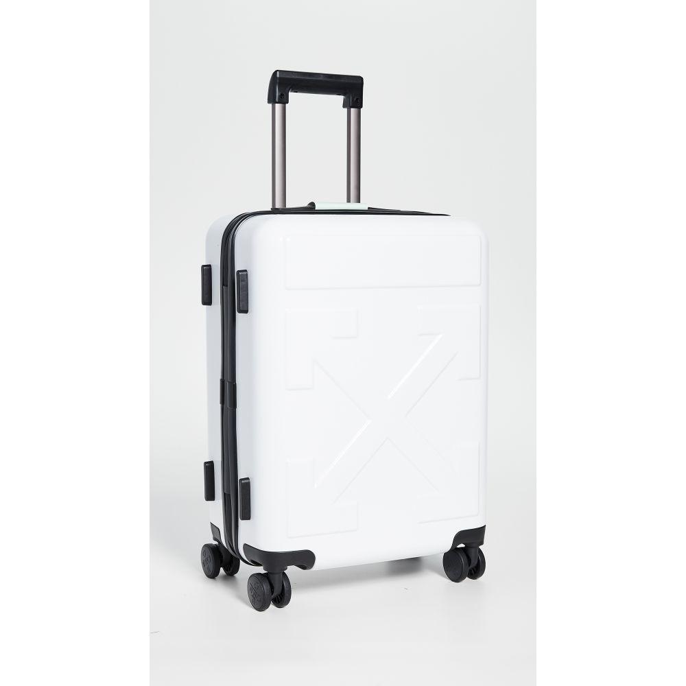 オフホワイト Off-White レディース スーツケース・キャリーバッグ バッグ【Arrow Trolley】White