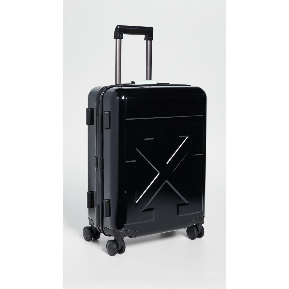 オフホワイト Off-White レディース スーツケース・キャリーバッグ バッグ【Arrow Trolley】Black