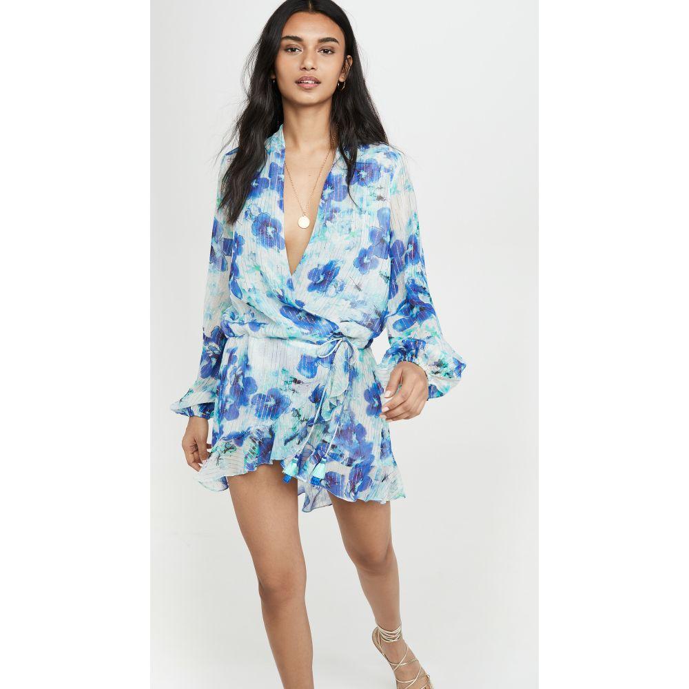 ロココ ROCOCO SAND レディース ビーチウェア ワンピース・ドレス 水着・ビーチウェア【Lyra Printed Dress】Blue