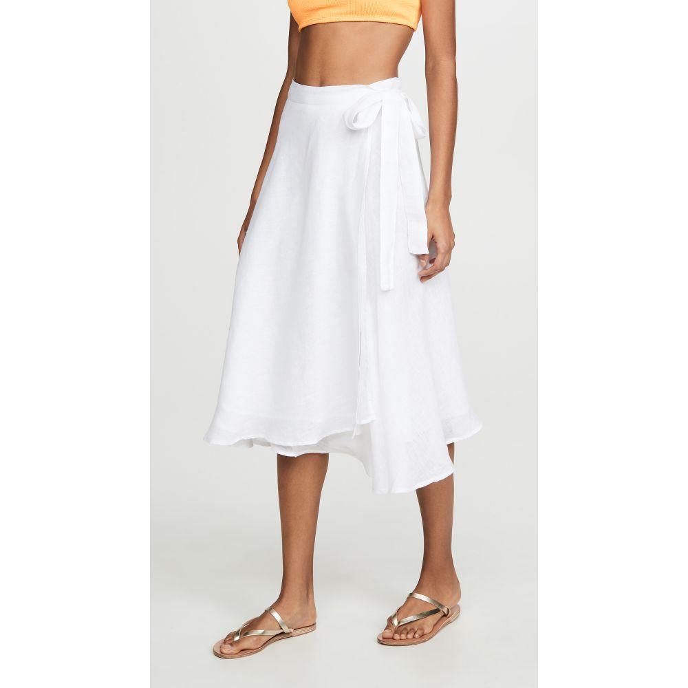 ビタミン A Vitamin A レディース ビーチウェア スカート 水着・ビーチウェア【Lana Skirt】White