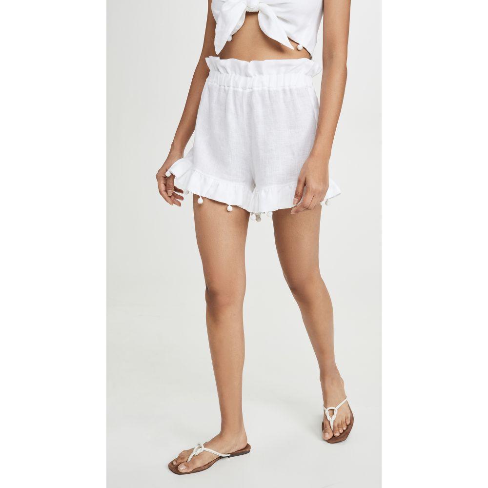 Waimari レディース ビーチウェア ショートパンツ 水着・ビーチウェア【Terraza Shorts】White