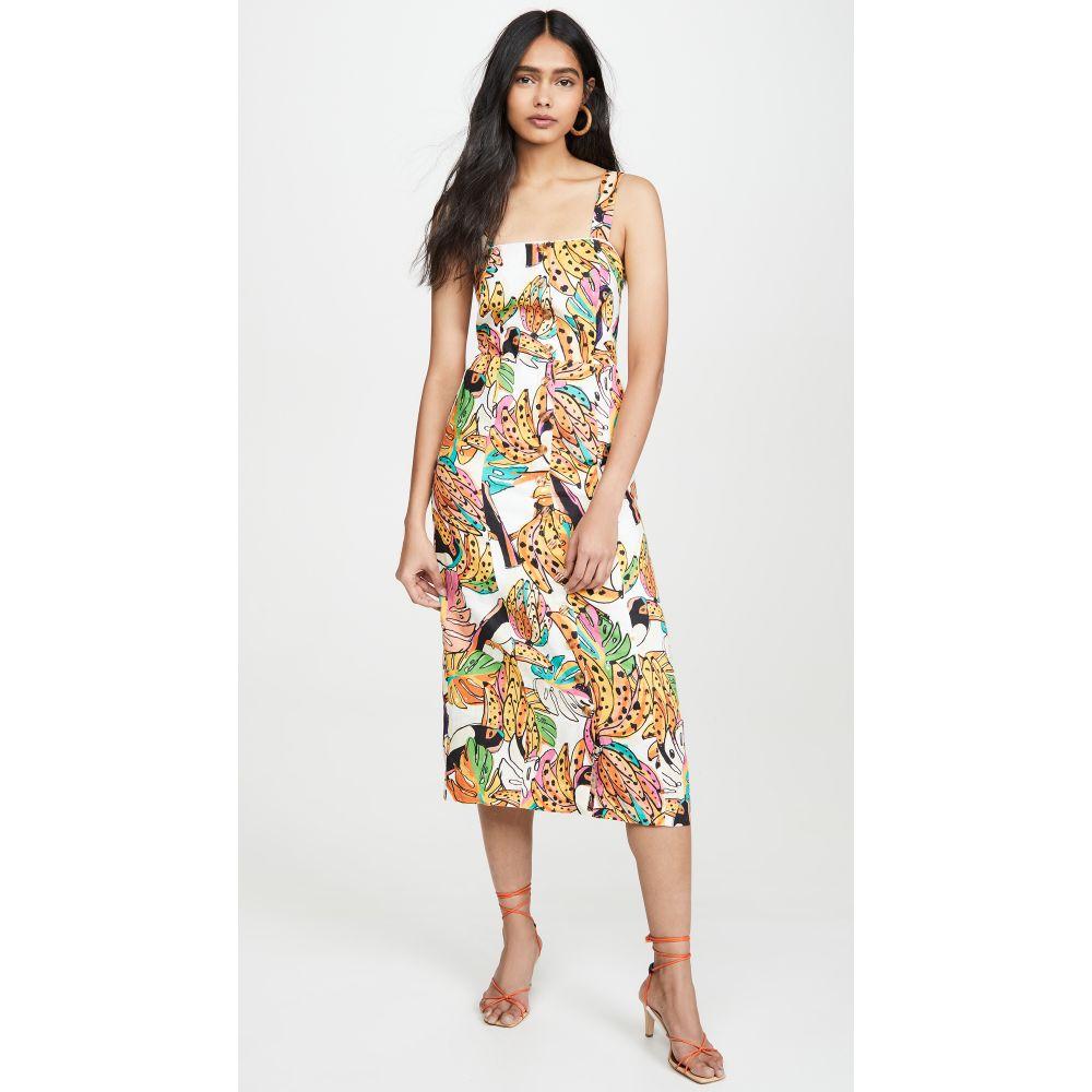 ファーム FARM Rio レディース ワンピース ワンピース・ドレス【Crazy Tucanos Linen Dress】Crazy Tucanos