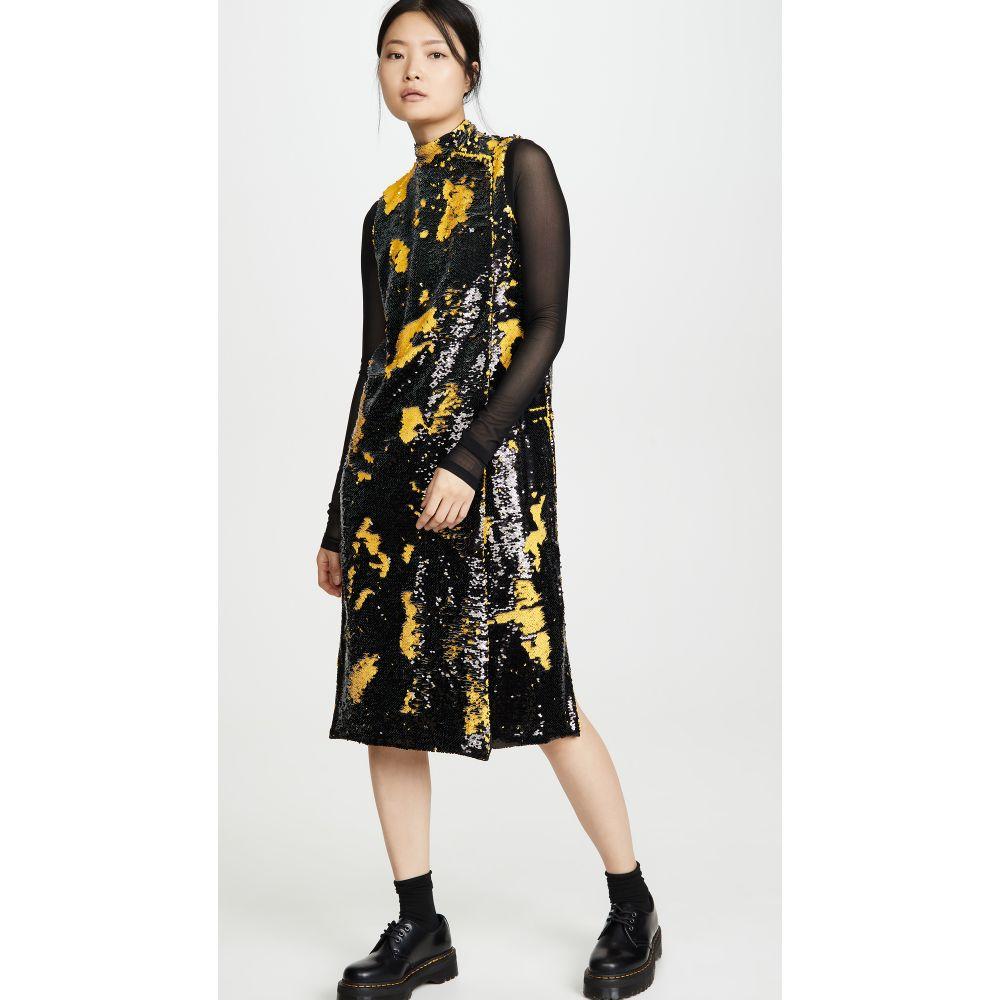 ガニー GANNI レディース ワンピース ワンピース・ドレス【Sequin Dress】Lemon