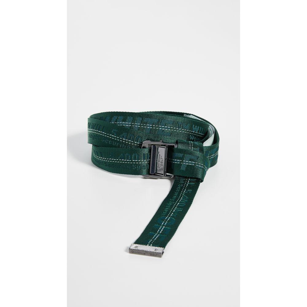オフホワイト Off-White レディース ベルト 【Classic Industrial Belt】Dark Green