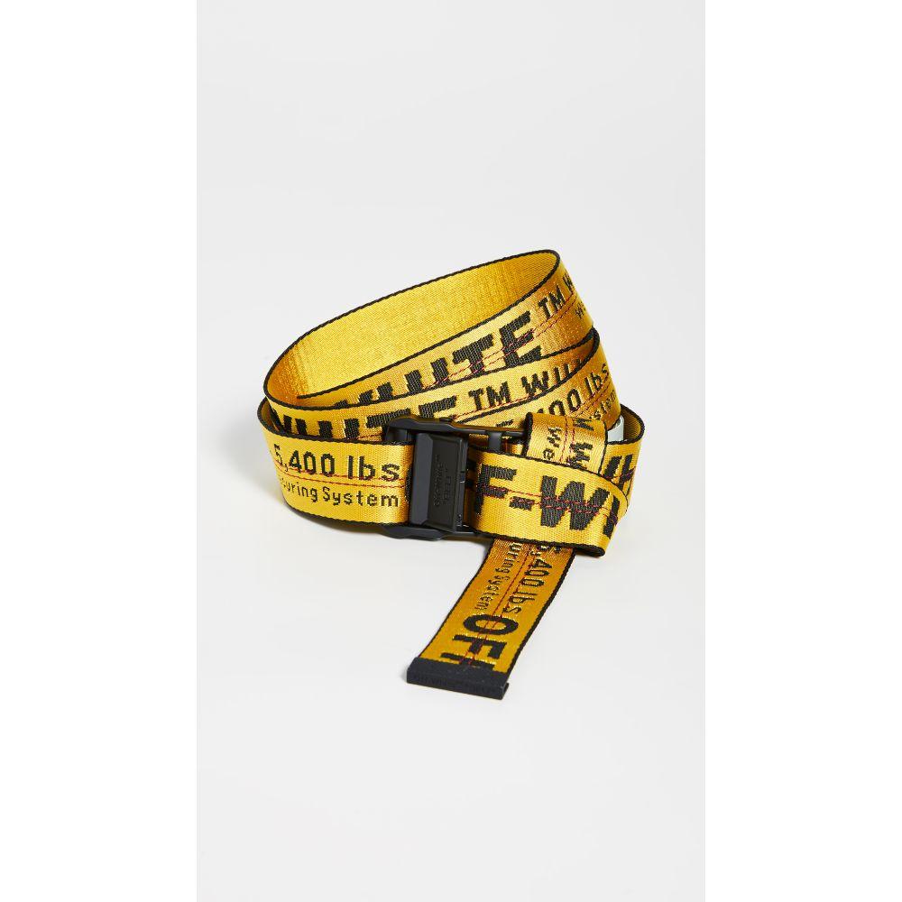 オフホワイト Off-White レディース ベルト 【Classic Industrial Belt】Yellow/Black