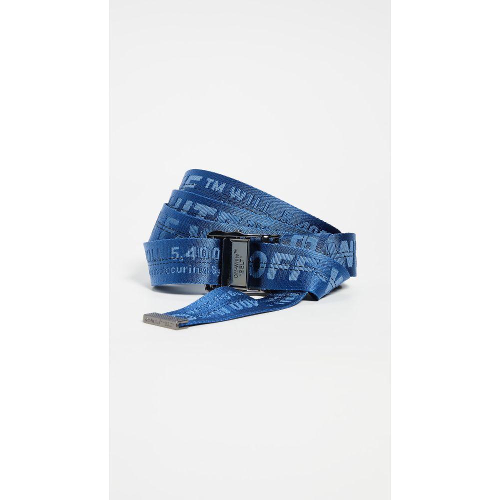 オフホワイト Off-White レディース ベルト 【Classic Industrial Belt】Blue