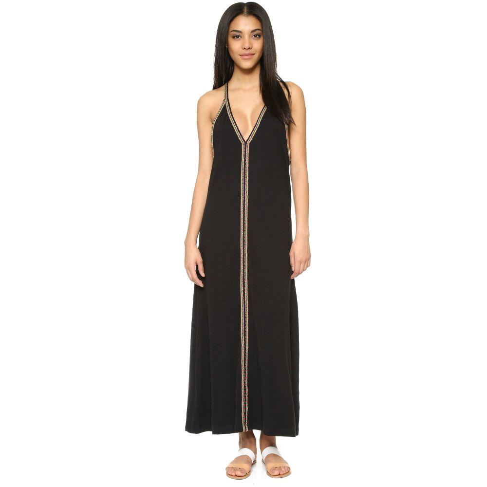 ピトゥサ Pitusa レディース ビーチウェア ワンピース・ドレス サンドレス 水着・ビーチウェア【Pima Sundress】Black