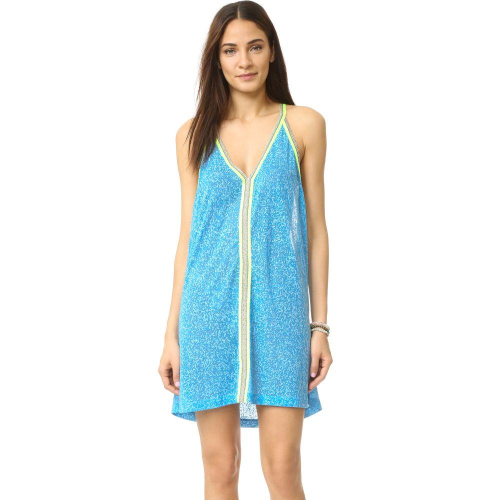ピトゥサ Pitusa レディース ビーチウェア ワンピース・ドレス サンドレス 水着・ビーチウェア【Mini Sundress】Blue