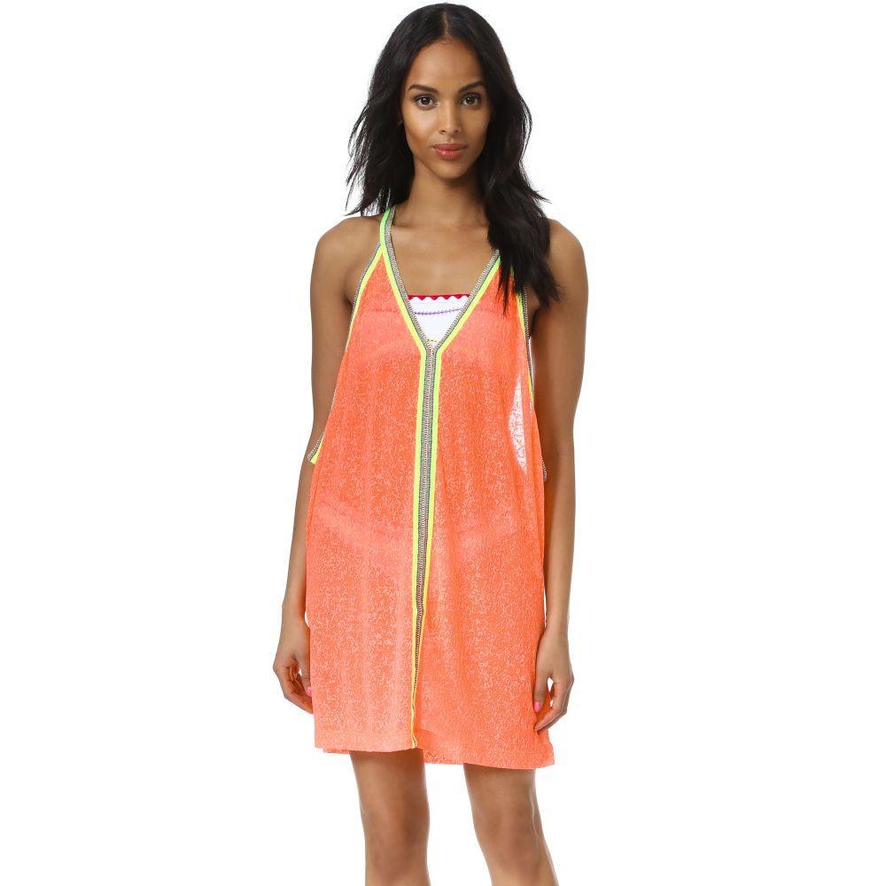 ピトゥサ Pitusa レディース ビーチウェア ワンピース・ドレス サンドレス 水着・ビーチウェア【Mini Sundress】Watermelon