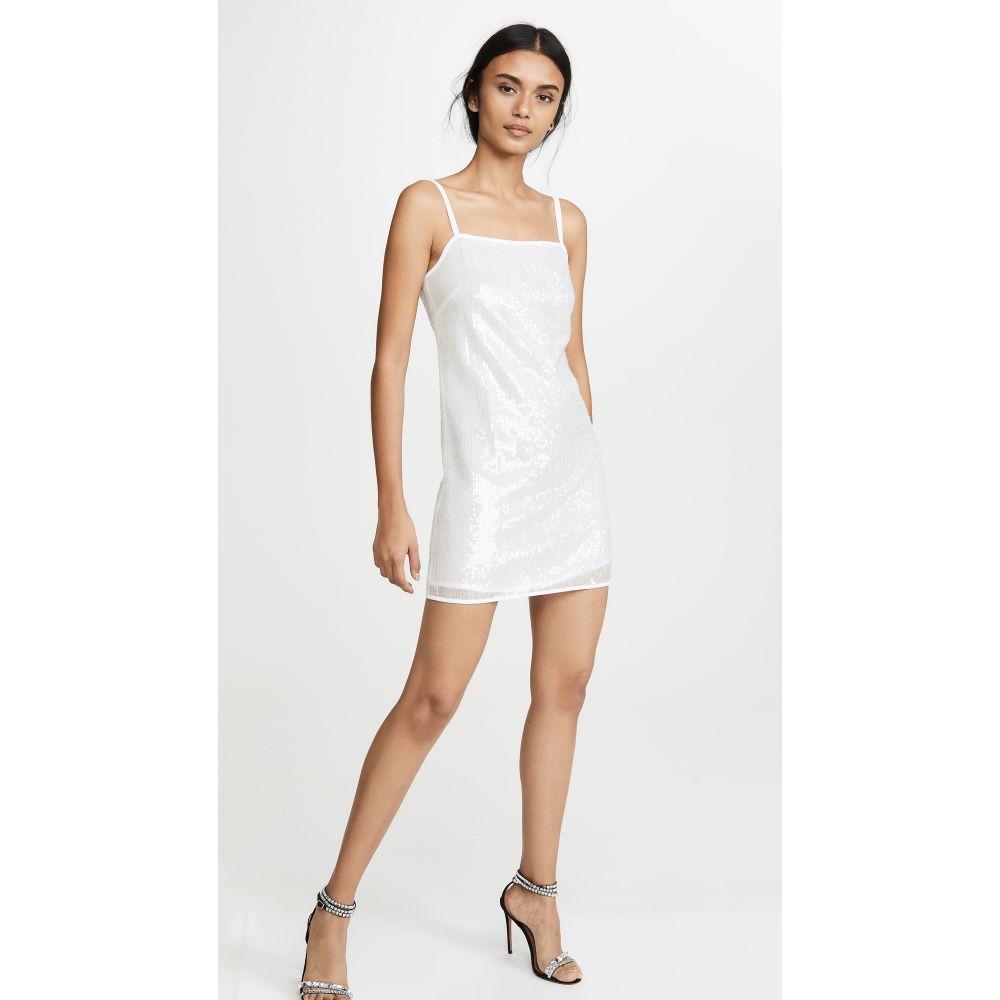 スタウド STAUD レディース ワンピース ワンピース・ドレス【Minnie Dress】Clear Sequin