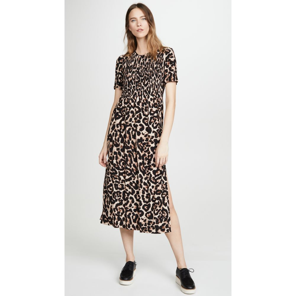 バウム ウンド ヘルガーデン BAUM UND PFERDGARTEN レディース ワンピース ワンピース・ドレス【Adamaris Dress】Wild Leopard