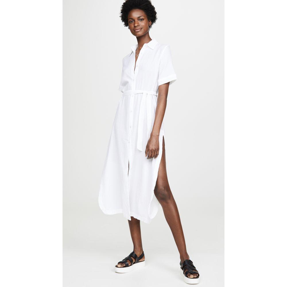 ディーエル1961 DL1961 レディース ワンピース ワンピース・ドレス【Fire Island Dress】Crinkled White