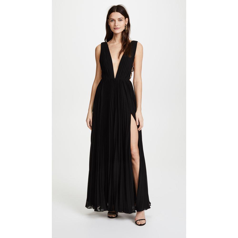 フェイム アンド パートナー Fame and Partners レディース ワンピース ワンピース・ドレス【The Allegra Dress】Black