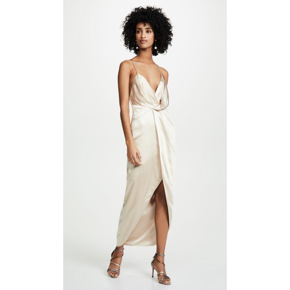 フェイム アンド パートナー Fame and Partners レディース パーティードレス ワンピース・ドレス【The Jami Dress】Champagne