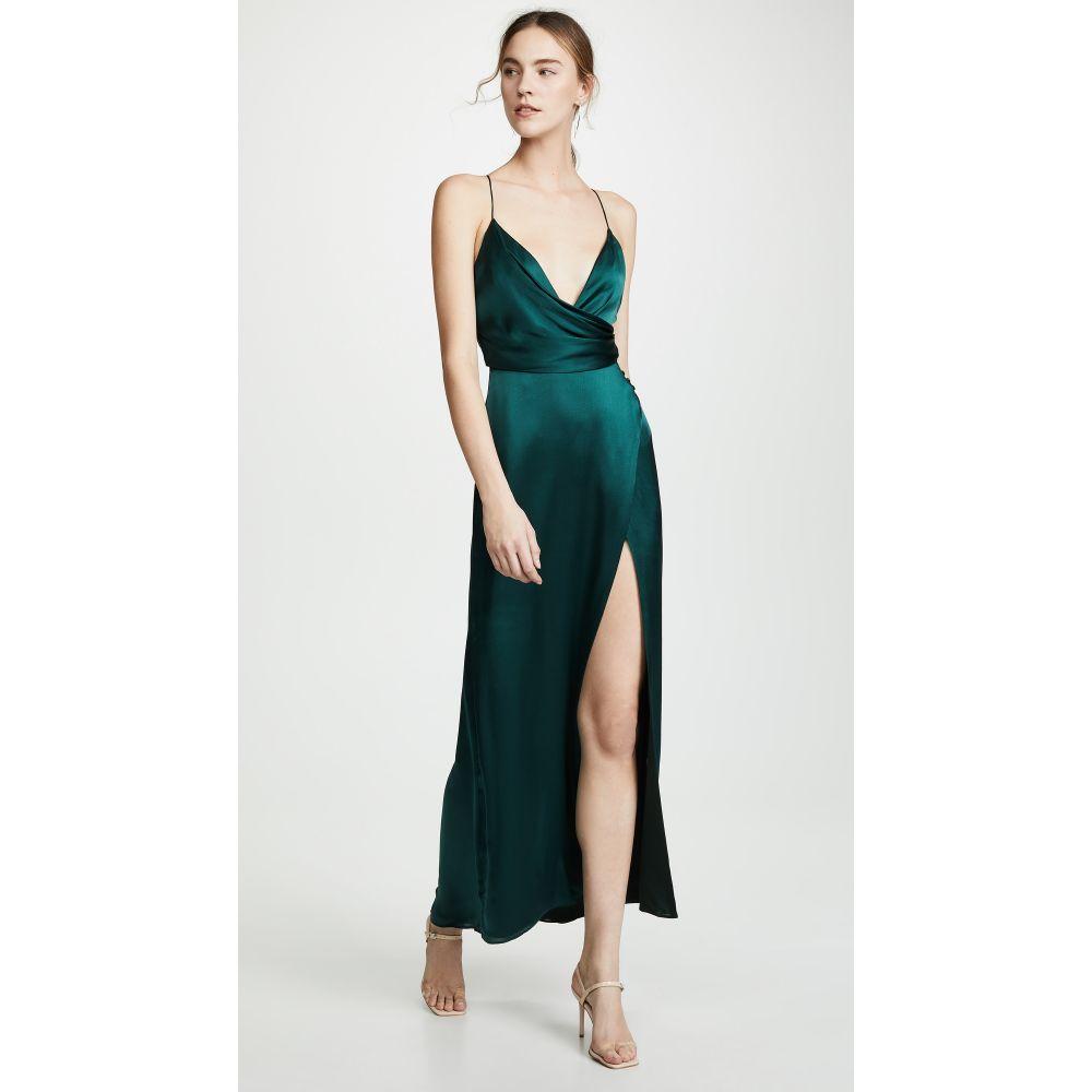 フェイム アンド パートナー Fame and Partners レディース ワンピース ワンピース・ドレス【The Ferne Dress】Dark Forest