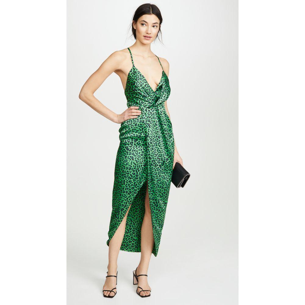 フェイム アンド パートナー Fame and Partners レディース ワンピース ワンピース・ドレス【The Jami Dress】Leopard Mojito