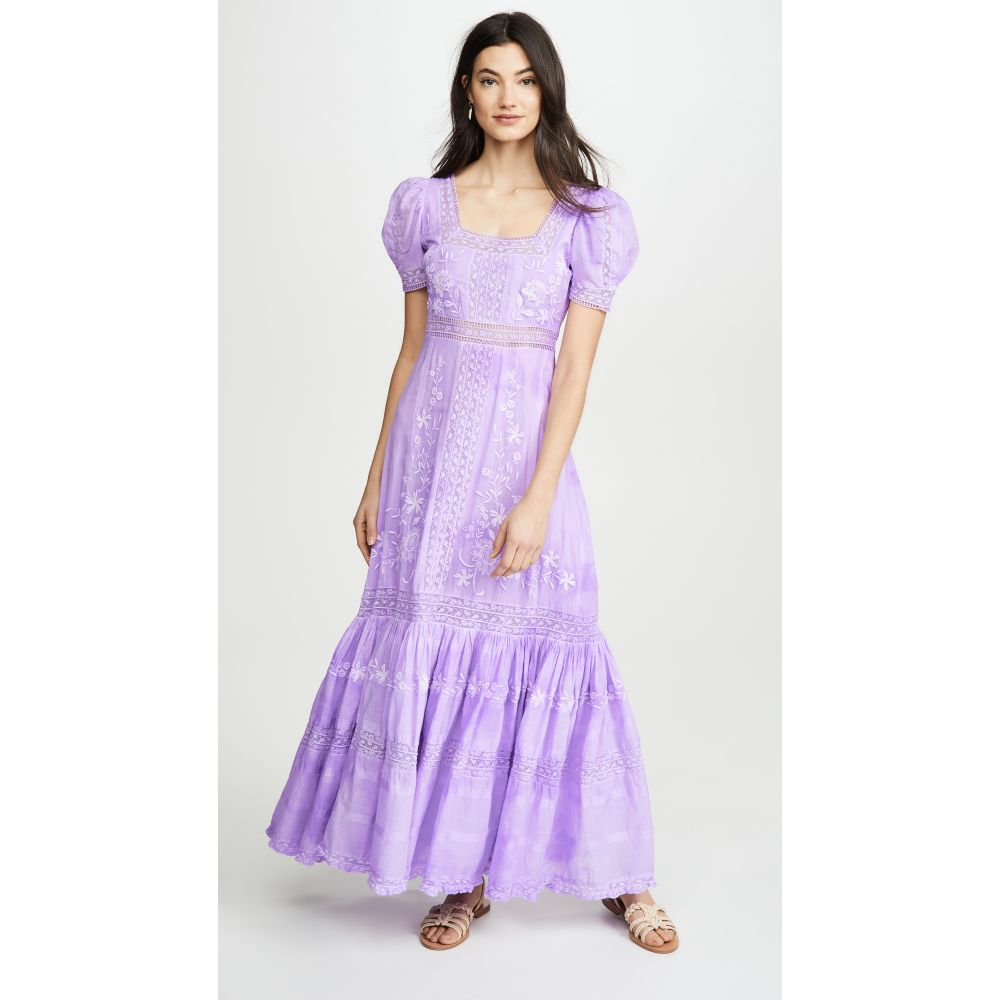 ラブシャックファンシー LOVESHACKFANCY レディース ワンピース ワンピース・ドレス【Ryan Dress】Lavender