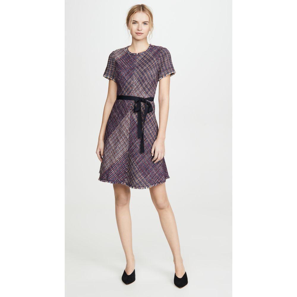 レベッカ テイラー Rebecca Taylor レディース ワンピース ワンピース・ドレス【Short Sleeve Blanket Tweed Dress】Multi