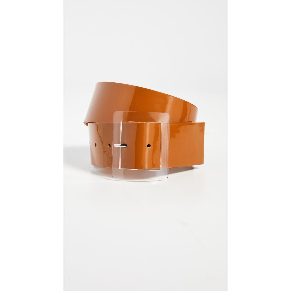 ティビ Tibi レディース ベルト 【Patent Leather Belt】Caramel